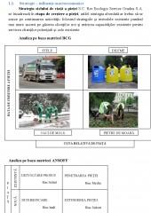 Serviciile de Salubrizare Stradala si Menajera Amenajarea si Intretinerea Spatiilor Verzi
